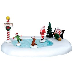 North Pole Ice Follies B/O 4.5V Cod. 64045