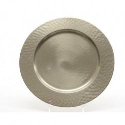 Piatto in metallo diam 30 cm