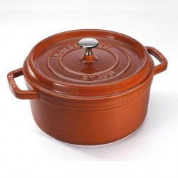 Cocotte 24 cm Cannella in Ghisa