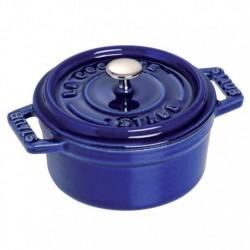 Mini Cocotte 10 cm Blu Scura in Ceramica