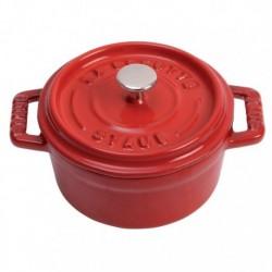 Mini Cocotte 10 cm Rossa in Ceramica