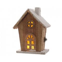 Casetta in legno con luce calda mod 1