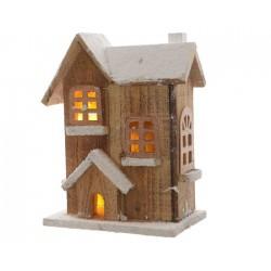 Casetta in legno con luce calda mod 2