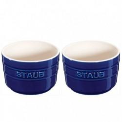 Ramekins 8 cm Blu Scuro in Ceramica