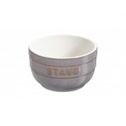Ramekins 8 cm Grigio Graphite in Ceramica