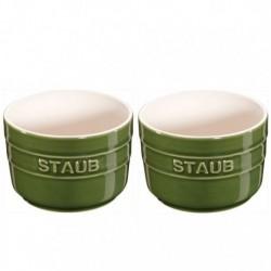 Ramekins 8 cm Verde Basilico in Ceramica