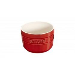 Mini Ramekin 8 cm Rosso Set di 2 in Ceramica