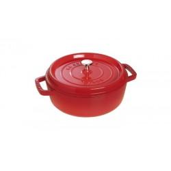 Tegame Rotondo 26 cm Rosso in Ghisa