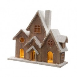 Casetta in legno con luce calda mod 3