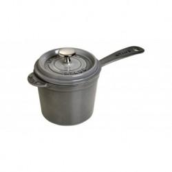 Sauce Pan Rotonda 14 cm Grigio Graphite in Ghisa