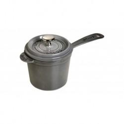Sauce Pan Rotonda 18 cm Grigio Graphite in Ghisa