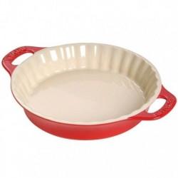 Tortiera Tonda 36 cm Rossa in Ceramica