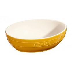 Set 2 Bowl 23 e 27 cm Senape in Ceramica
