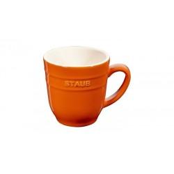 Mug 350 ml Arancione in Ceramica