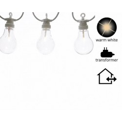 Filo di lampadine a Led da esterno. Extension Kit