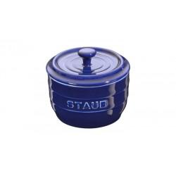 Saliera 10 cm Blu Scura in Ceramica