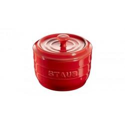Saliera 10 cm Rossa in Ceramica