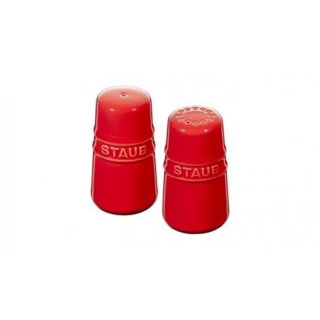 Set Sale e Pepe 7 cm Rosso in Ceramica