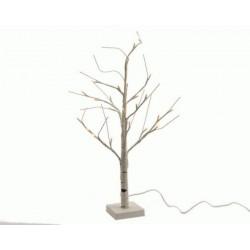 Albero con luci led da esterno h180 cm 96 led