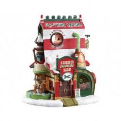 Reindeer Grooming Barn, B/O (4.5V) Cod. 75293