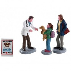 Charley The Vet Set of 4 Cod. 82578