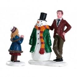 Dad's Snowman Set of 2 Cod. 82585
