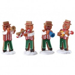 Gingerbread Jazz Set of 4 Cod. 72562