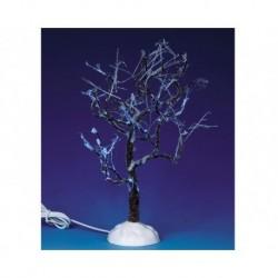 Lighted Ice Glazed Tree, Blue B/O 4.5V Cod. 94999