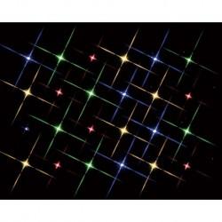 Super Bright 24 Multi Color Light String B/O 4.5V Cod. 84382