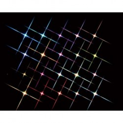 Super Bright 20 Multi Color Flashing Light String B/O 4.5V Cod. 84384