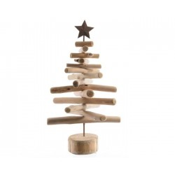 Albero stilizzato in legno piccolo