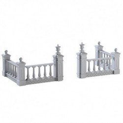 Plaza Fence Set of 4 Cod. 74237