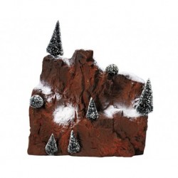 Small Village Mountain Backdrop Cod. 81013