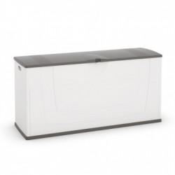 Baule Karisma 119 x 40 x 58h KIS Colore Bianco/Grigio