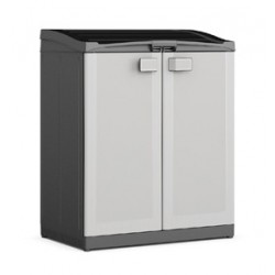 Armadio Logico Compact Store Recycling System 90 x 55 x 100h KIS Colore Grigio
