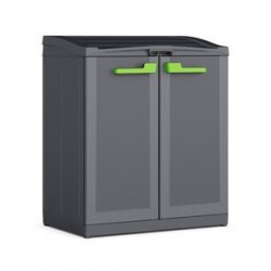 Armadio Moby Compact Store Recycling System 90 x 55 x 100h KIS Colore Antracite