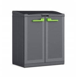 Armadio Moby Compact Store Work Space 1 Ripiano 90 x 55 x 100h KIS Colore Antracite