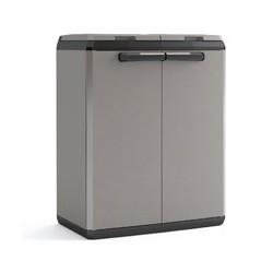 Armadio Split Cabinet Recycling Basic 68 x 39 x 85h KIS Colore Grigio