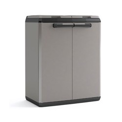 Keter Split Cabinet Recycling Basic - Armadio Per La Raccolta Differenziata - 68X39X85H