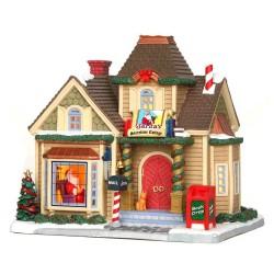 Santa's Storytime Cottage Cod. 25418