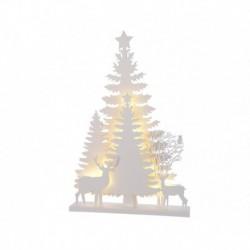 Albero Stilizzato a Led 40 cm 12 Led