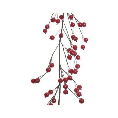 Ghirlanda di Bacche in Schiuma 180 cm