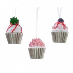 Cupcake da Appendere 5 cm. Pezzo Singolo