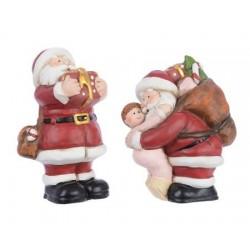 Babbo Natale in Terracotta 12 cm. Pezzo Singolo