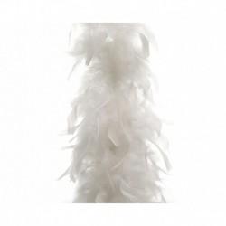 Ghirlanda di Piume Bianco 180 cm