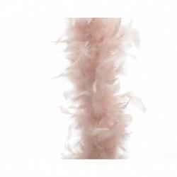 Ghirlanda di Piume Rosa Antico 180 cm