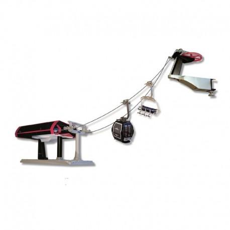 Ski Lift Deluxe + Seggiovia + Cabina Nero / Rosso