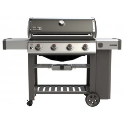 Barbecue Weber a Gas Genesis II E-410 Smoke Grey GBS Cod. 62051129
