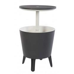Tavolino in Resina COOL BAR Grigio Keter