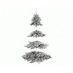 Albero di Natale Appeso Innevato 210 cm